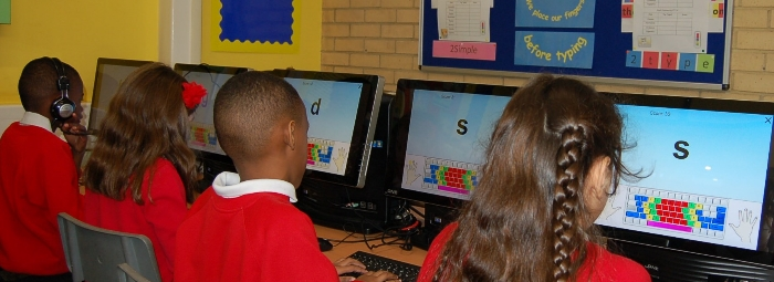 Touch Typing Redriff Primary School